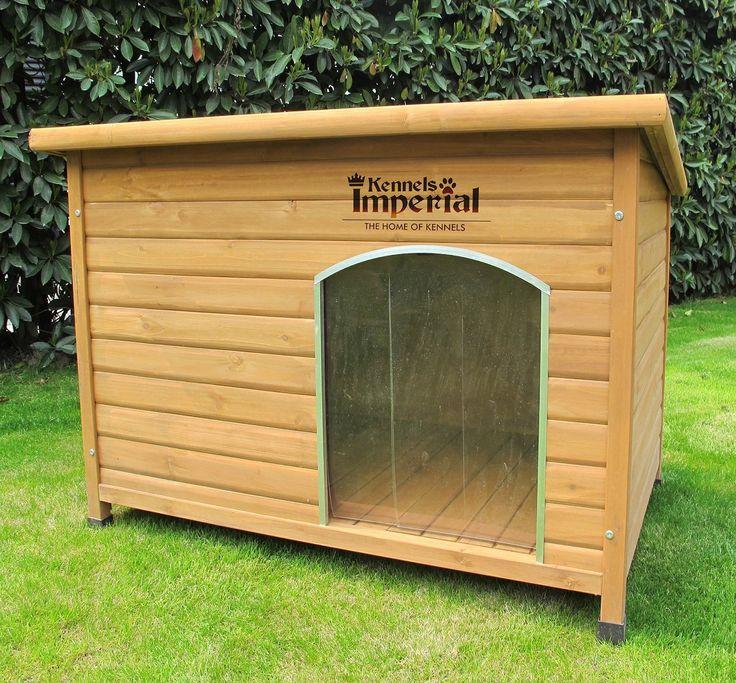 Hundehütte XL isoliert, aus Holz. Mit Entfernbarem Boden zur Einfachen…