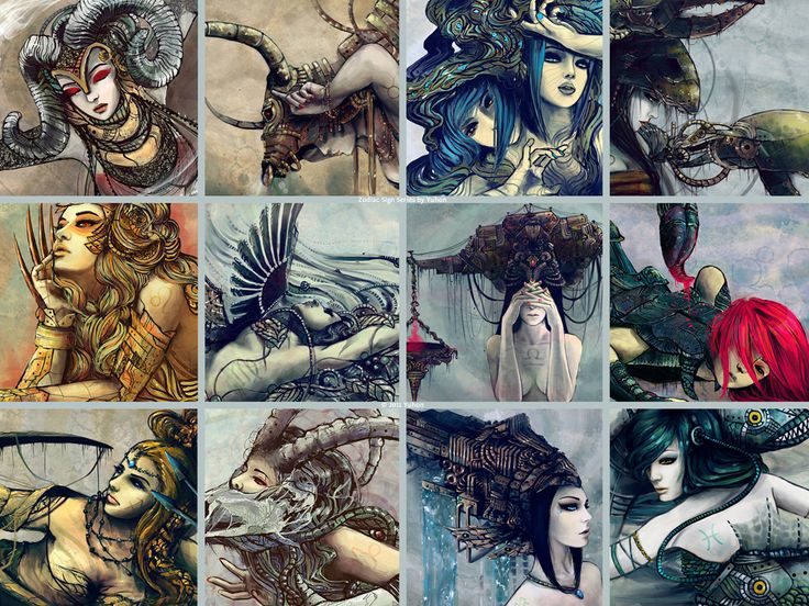 Zodiac Signs by ~Yuhon on deviantART(badass)