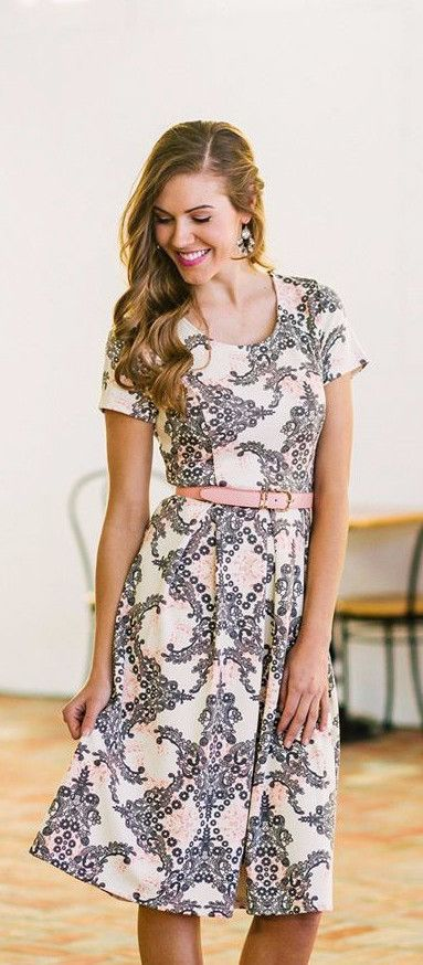Eve Dress - Spring Print (Pre-order)