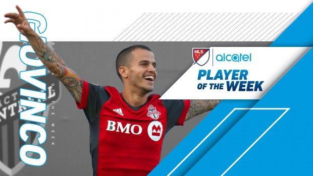 #MLS  Toronto FC star Sebastian Giovinco voted Alcatel MLS Player of the Week