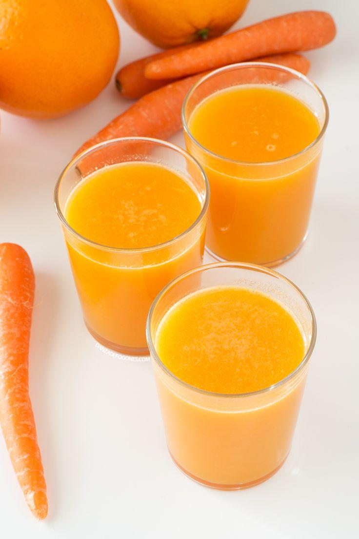 Zumo Naranja Para Potenciar el Bronceado