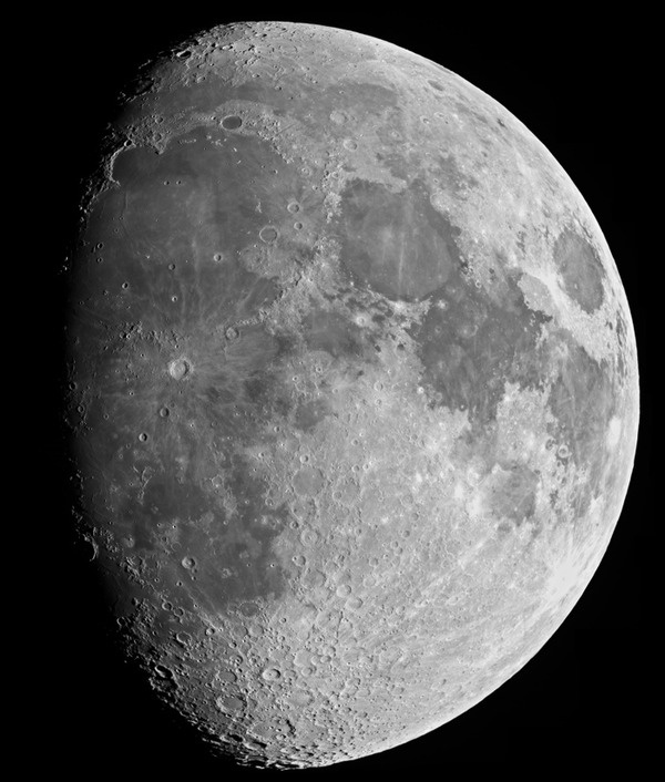 the moon's incredible detail