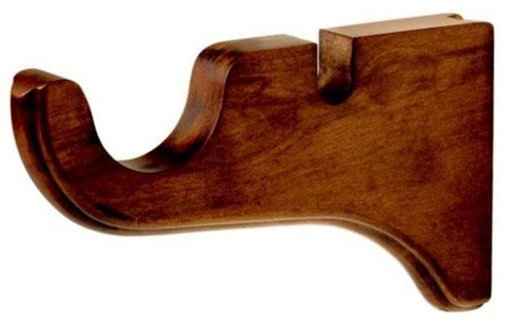 Wooden Curtain Rods and Brackets - http://www.clubjarritos.com/wooden-curtain-rods-and-brackets/