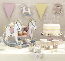 Rock-a-bye Baby Table Decorations Christening - Baby Shower - Baby Naming Party