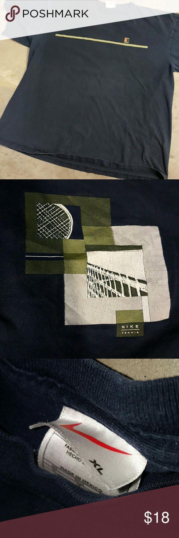 Nike extra large tennis T-shirt Extra large Nike tennis T-shirt all cotton Nike Shirts Tees - Short Sleeve