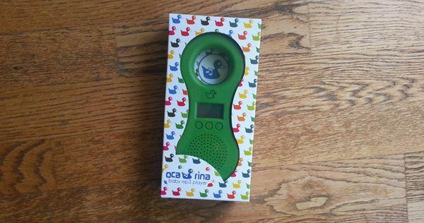 papacube: Test et avis du Ocarina Baby MP3 player