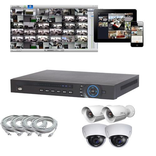 Skyway Security - Digital Security Solutions - 4 IP Camera Package with Indoor/Outdoor IR Domes/Bullets, $1,203.00 (https://www.skywaysecurity.com/4-ip-camera-package-with-indoor-outdoor-ir-domes-bullets/)