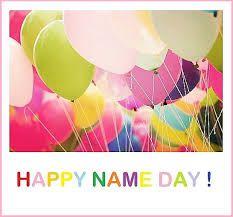 Αποτέλεσμα εικόνας για happy name day flowers