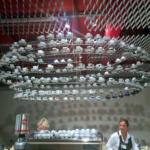 espresso cups - illycaffe factory in Trieste