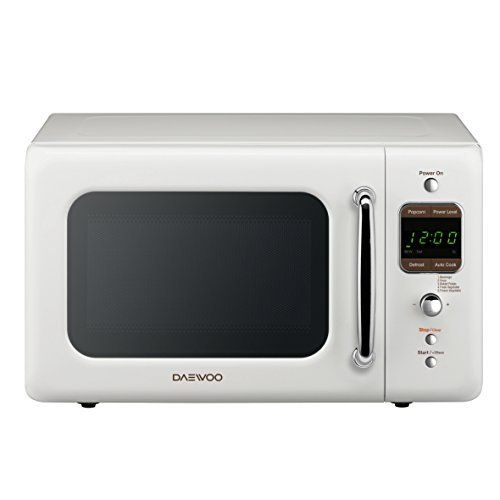 Daewoo Retro Microwave Oven 0 7 Cu Ft Creme White 700w Products Online With U Australia In Affordable Prices B01ezapvmw