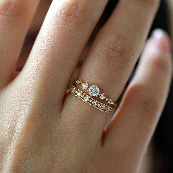 47+ Vintage dainty wedding rings info