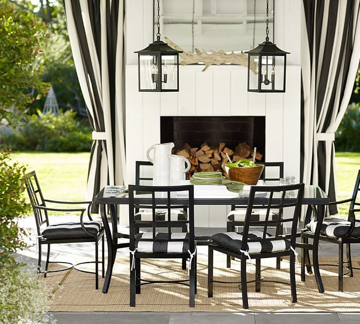 Pottery Barn Custom Dining Table Furniture Cover