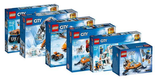Nouveautés Arctic 2018Encore Lego Visuels City Expedition Des b76IyvmfYg