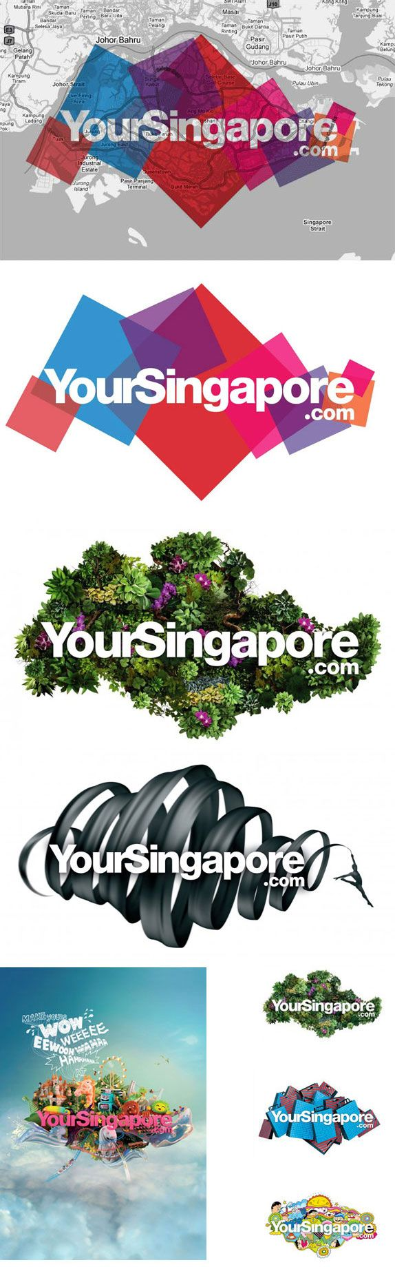 Your Singapore by BBH Asia-Pacific #city_brand 2010-just cos I like the changing images behind the words...