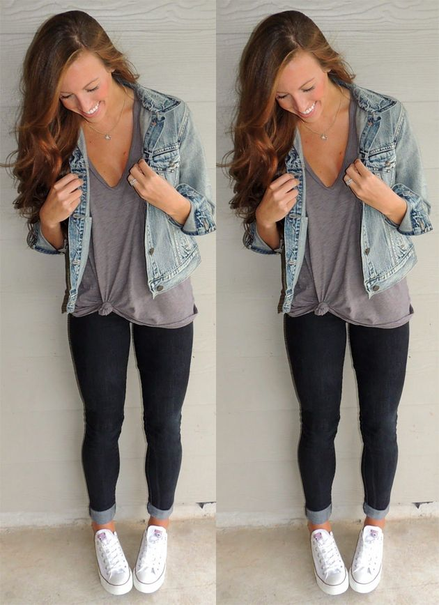 Como usar jaqueta jeans, veja dicas para usar e arrasar com a jaqueta jeans no outono/inverno, dicas de como usar e combinar a peça com calça, vestido e saia.