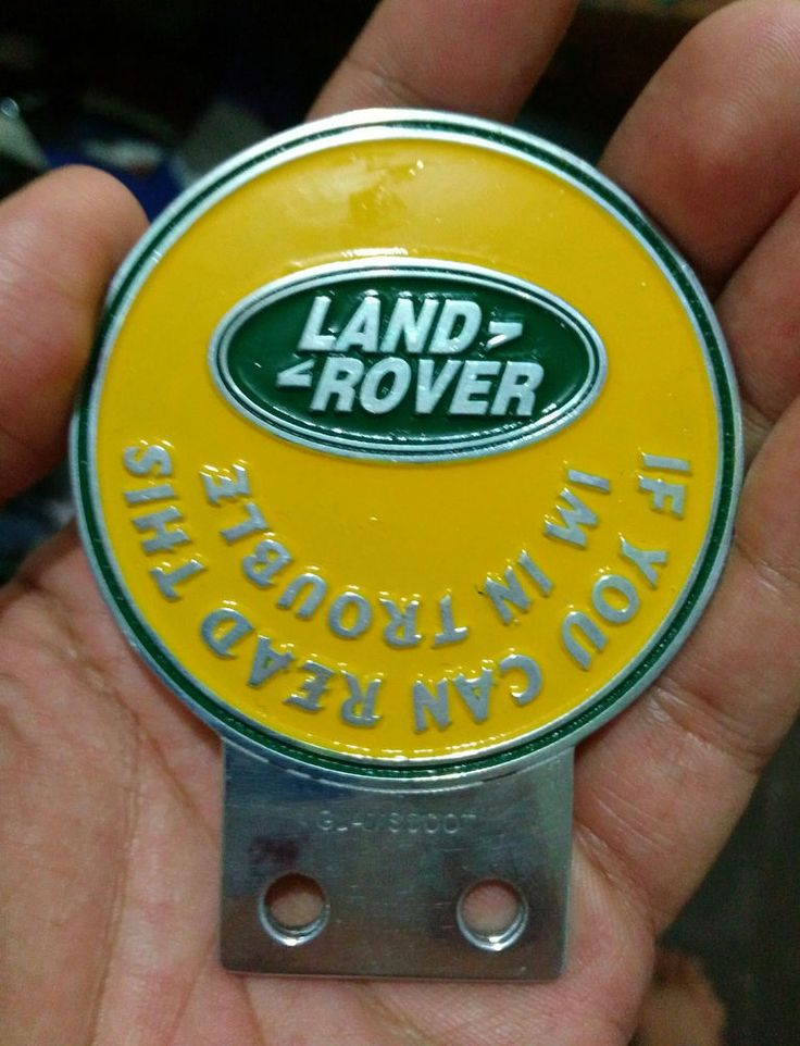 Land Rover Series 1 2 A CLUB BADGE VINTAGE CLASSIC PARTS FOR SALE FUNNY 2a one  #glamscoot