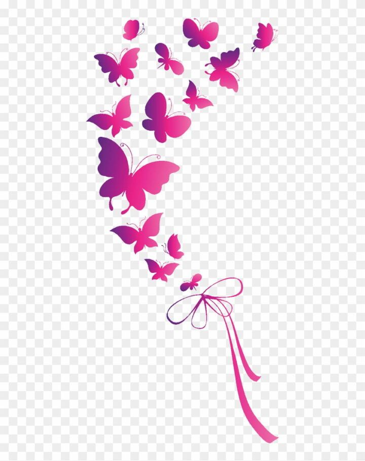 Butterfly Euclidean Vector Clip Art Pink Butterfly Png Pink Butterfly Free Clip Art Clip Art