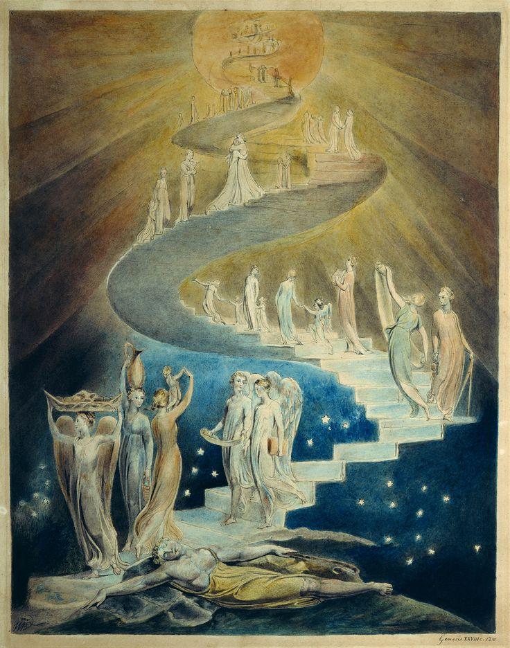 La escalera de Jacob william blake f