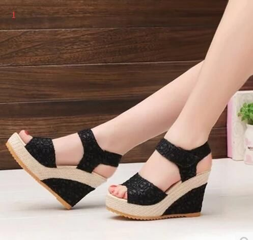 $9.32 (Buy here: https://alitems.com/g/1e8d114494ebda23ff8b16525dc3e8/?i=5&ulp=https%3A%2F%2Fwww.aliexpress.com%2Fitem%2FNew-Size-35-40-Women-Sandals-2017-Summer-New-Open-Toe-Fish-Head-Fashion-platform-High%2F32787073033.html ) New Size 35-40 Women Sandals 2017 Summer New Open Toe Fish Head Fashion platform High Heels Wedge Sandals female shoes women sho for just $9.32