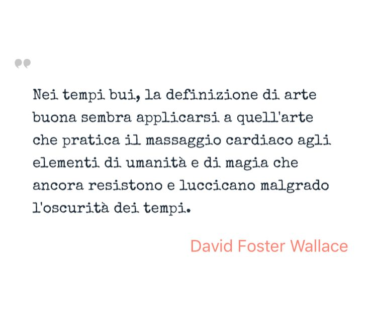 Inspiring Quote by David Foster Wallace #Inspiration #Literature #Society - Saved on @quotle