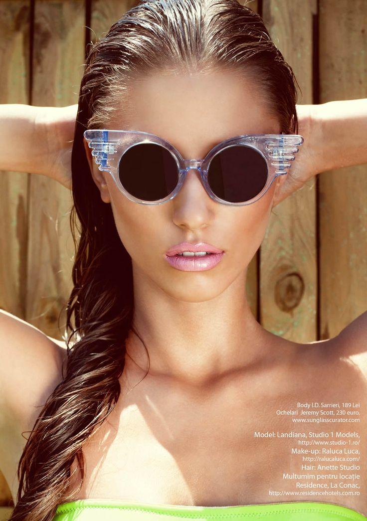 Cerciu Landiana Alexandra by Stefan Dani for Rumours Magazine July/August 2012  Nice
