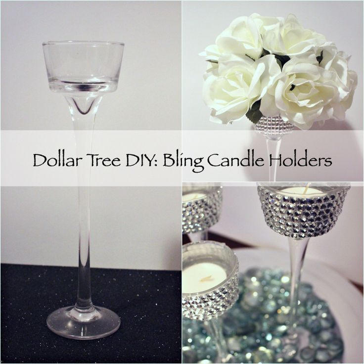 25 Unique Dollar Tree Candle Holders Ideas On Pinterest