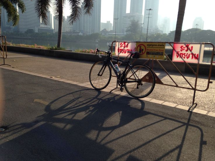 Cycling in Bangkok