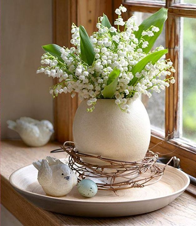 Can't you just smell the beautiful fragrance of Lilly of the Valley as you look at this?