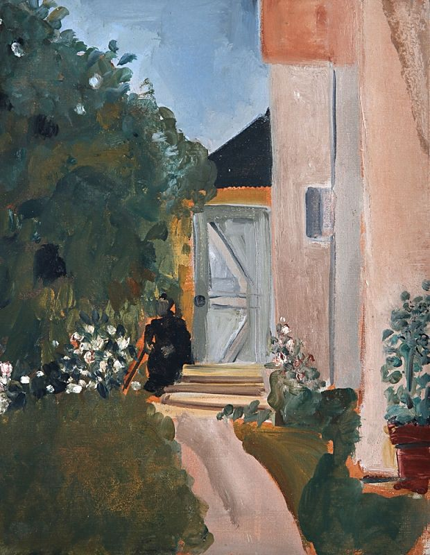 Art Collection, lilithsplace: 'Woman at the Entrance of a House'...