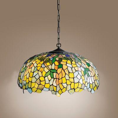 Perenz T548 S Tiffany lampa suspension med kedja