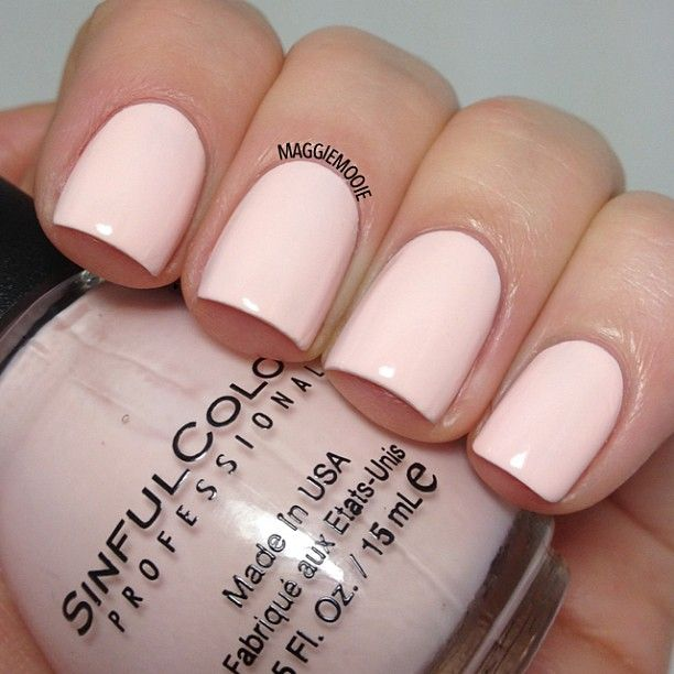 .@maggiemooie |  new Sinful Colors polish called Easy Going