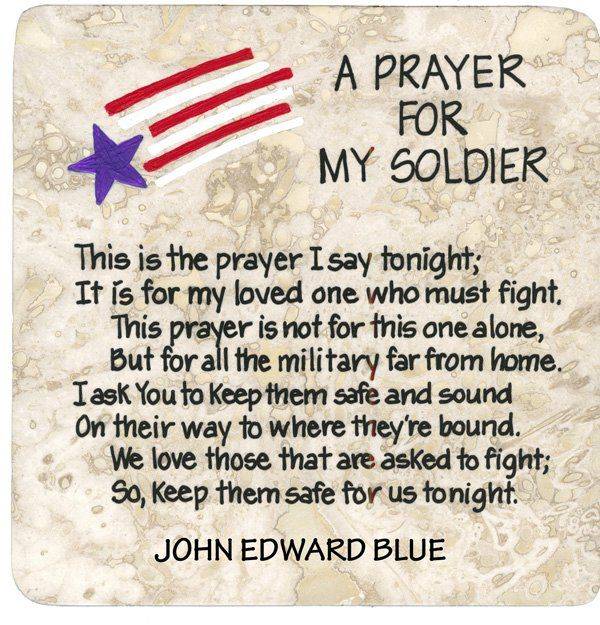 A prayer for your soldier