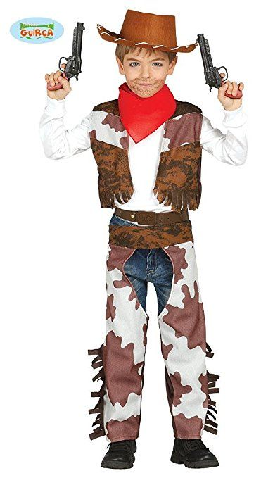 Cowboy Kostum Fur Kinder Madchen Jungen Western Kinderkostum Gr 98