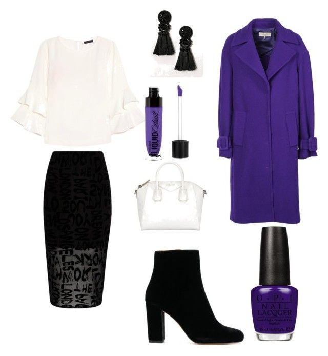 """""""Love purple"""" by gforfashion on Polyvore featuring River Island, J.Crew, Emilio Pucci and OPI"""