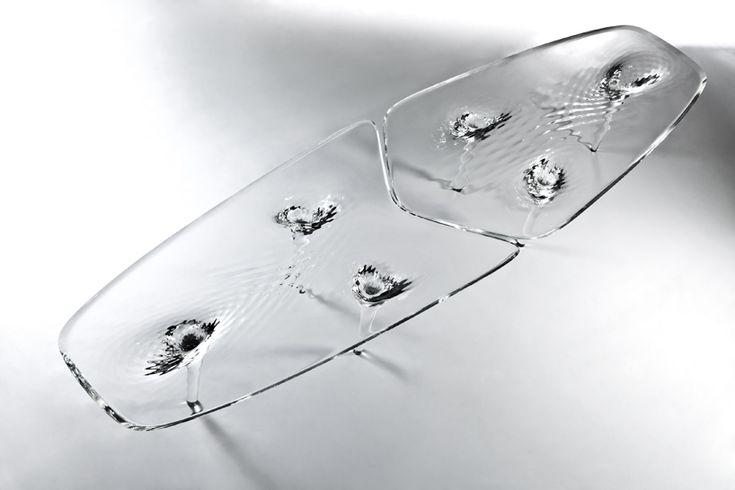 zaha hadid: liquid glacial table
