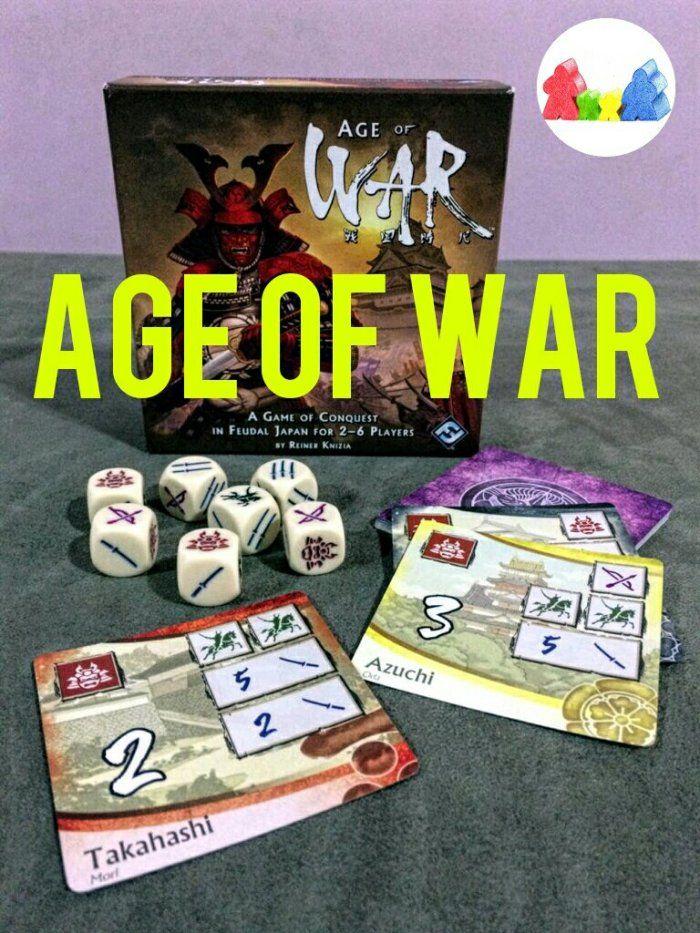 Caixa Jogo De Tabuleiro Age Of War Um Otimo Jogo De Rolagem De Dados Sorte E Bastante Risadas Confira Mais Em Nosso Blog Jogos De Tabuleiro Jogos Age