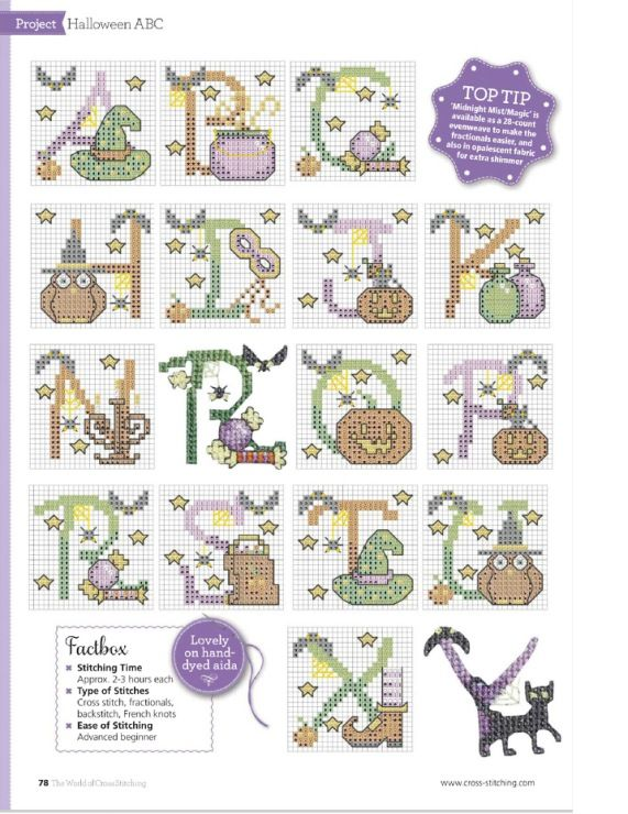 220 best Cross Stitch - Alphabets images on Pinterest | Crossstitch ...