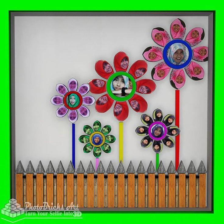 3D Flower CheerFlower model (front view). Size 30x30 cm. Wanna purchase? Check our bio for more info. #interior #walldecor #decoration #interiordesign #creativeindustry #craft #art #gift #creative #creativeart #desainunik #desainkreatif...