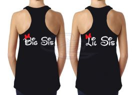 Big sis and little sis matching Disney Shirts. Grab your pair on http://www.13thave.com/