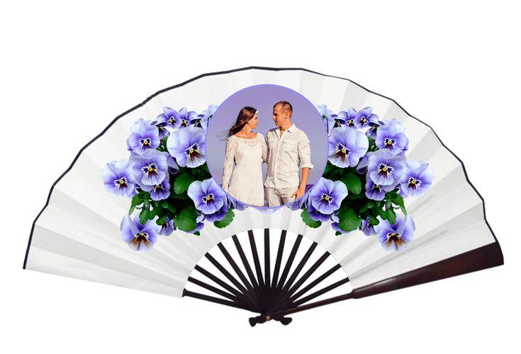 Abanico para personalizar con tu foto, diseño o imagen. Un regalo ideal para el día de la madre, navidad, bodas, comuniones. Regalos personalizados en Madrid *PAGO 100% SEGURO*