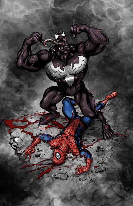 Les super-héros par Chris McJunkin