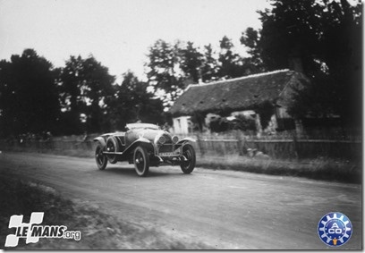 1925 La Lorraine  # 5 Le Mans Winner