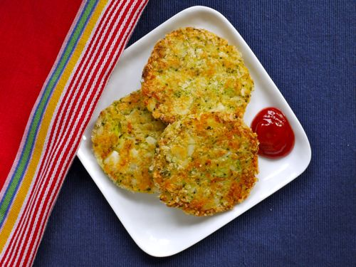 Broccoli cheddar patties!  I just made these for my son and he LOVED them!  I'm so happy to have a new healthy option for his lunches!