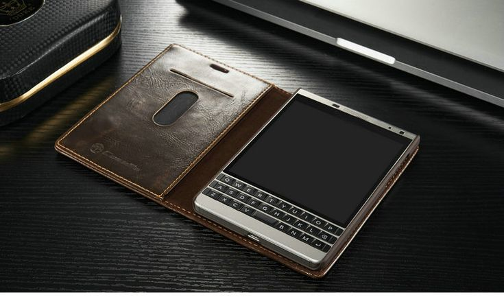Newest For Blackberry Passport 2 case,Leather Case for Blackberry Passport 2