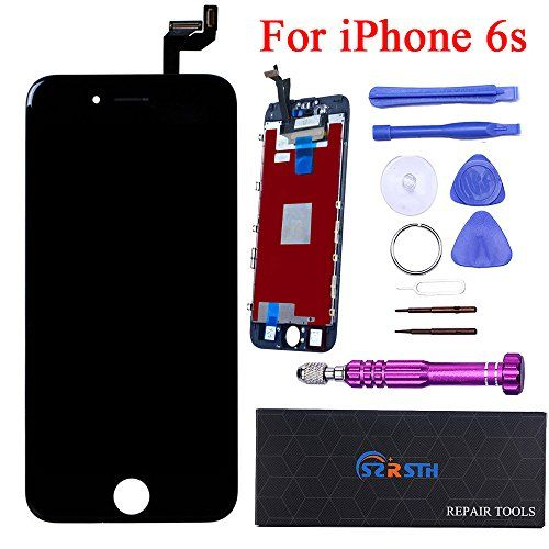 RSTH LCD Screen Replacement Touch Digitizer Display Assembly for iPhone 6S 4.7 inch Black with Repair Tool Kit  http://topcellulardeals.com/product/rsth-lcd-screen-replacement-touch-digitizer-display-assembly-for-iphone-6s-4-7-inch-black-with-repair-tool-kit/  Only compatible with iPhone 6S 4.7 inch-Black. Good Quality Repair Tool Kit & Screen protector. Any faulty screen can be replaced.(like display problems,cracked screens,touch insensitivity,dead pixels,lines appeared