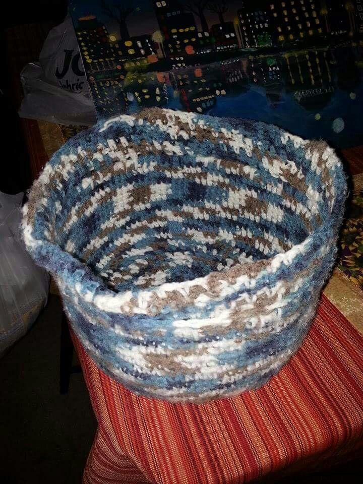 Crochet my own basket