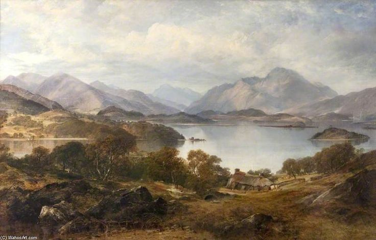 Loch Lomond United Kingdom  city photo : Loch Lomond de Horatio Mcculloch 1806 1867, United Kingdom More