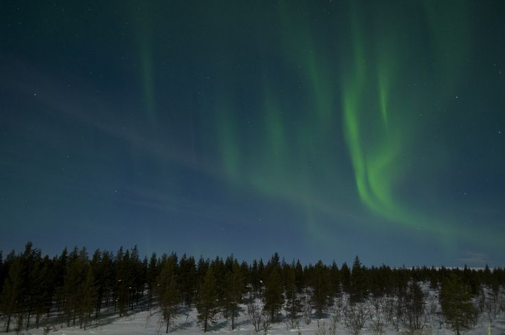 Because you can see the Northern Lights from Lapland. | 56 Reasons You Should Move To Finland Immediately