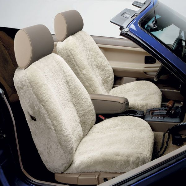 Blue Ribbon 3 Star Semi Custom Sheepskin Seat Covers - Best Price on Sheep Skin Seat Covers