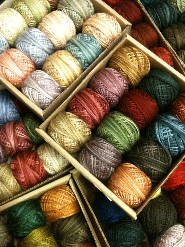 Valdani Hand Dyed Embroidery Threads  Heart39s Ease